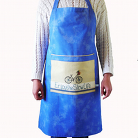 Bicycle Apron in Blue