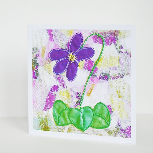 Violet Patch Greetings Card
