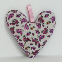 Pink and Purple Floral Lavender Bags - Set of 2