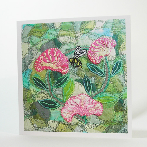 Honeysuckle Greetings Card