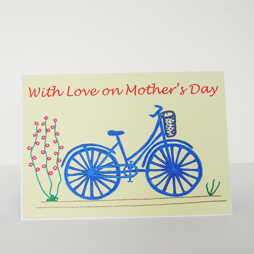Bicycle Mother's Day Card