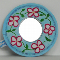 Daisy Chain Pocket Mirror