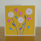 Gold Ox-Eye Daisy Greetings Card