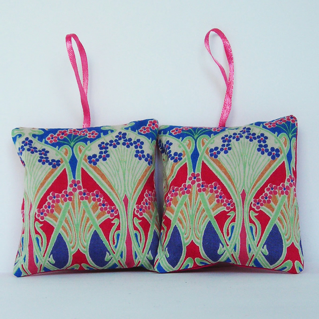 Liberty Print Lavender Bags - Set of 2