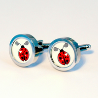 Lovebug Cufflinks for the Lovebug in Your Life