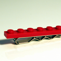 Red Lego Tie Bar