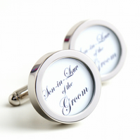 Son-in-Law of the Groom Cufflinks