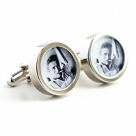 James Dean Cufflinks - Hollywood Movie Film Legend