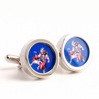 Thor Cufflinks Comic Book Hero
