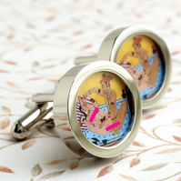 Kama Sutra Cufflinks - Erotic Fun
