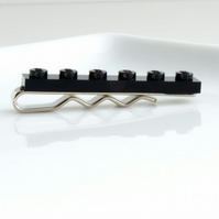 Black Lego Tie Clip for Weddings Fun & Special Occasions, more colours available