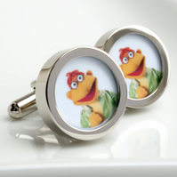 Sooter from the Muppet Show Cufflinks