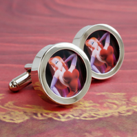 Jessica Rabbit Cufflinks