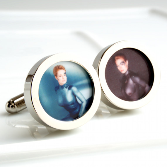 Star Trek Cufflinks of the Borg Beauty 7 of 9