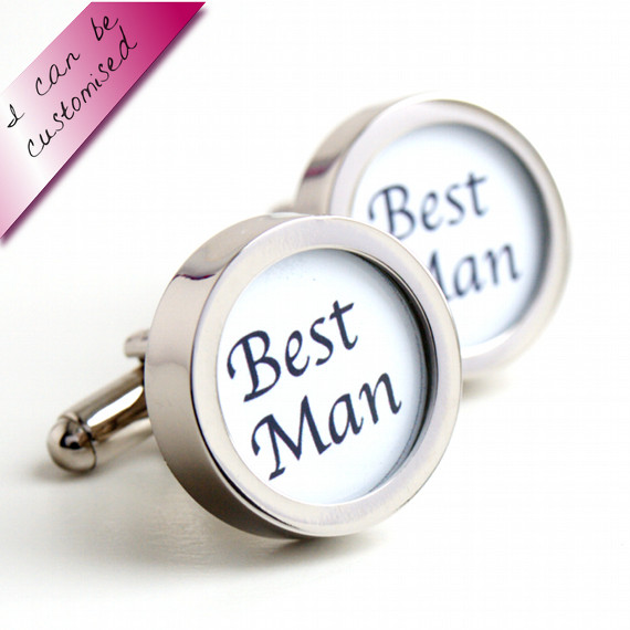 Best Man Cufflinks for Weddings