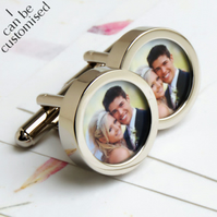 Wedding Photo Cufflinks