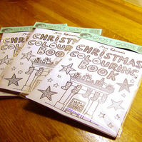 Christmas Colouring Book Zine