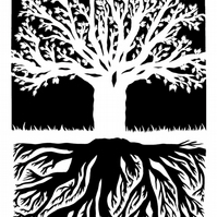 Tree - Original hand pulled screen print