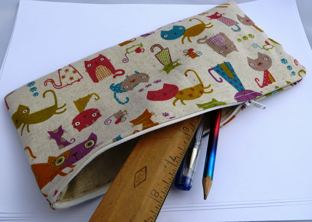 Curious Cats and Cute Mice Pencilcase