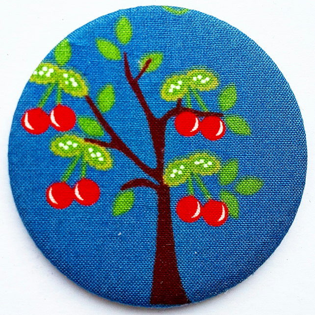 Cherry Tree Pocket Mirror