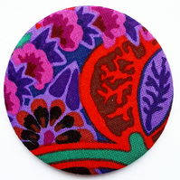 Kaffe Fassett Fabric Pocket Mirror