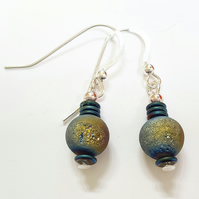 Druzy Bead Earrings
