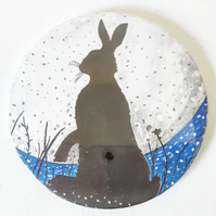 Hare Pocket Mirror