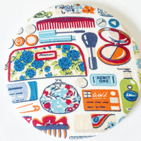 Liberty Fabric Pocket Mirror