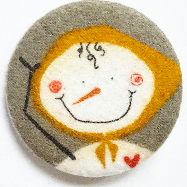 Snow Woman Badge