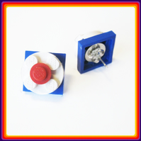 Three ply lego earring