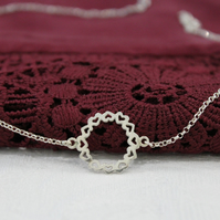 Sterling Silver Endless Love Necklace