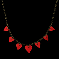 Little Hearts Valentines Necklace