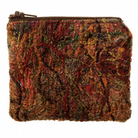 Autumn Fibre Felt Purse