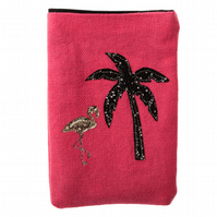 Flamingo iPod Phone Pouch Purse