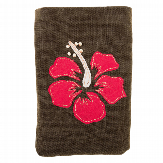 Hibiscus Flower iPod Phone Pouch Purse