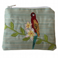 Tropical Parrot Purse