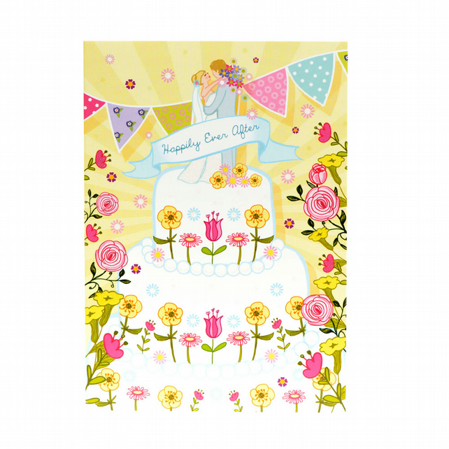 Happily Ever After - Wedding Card