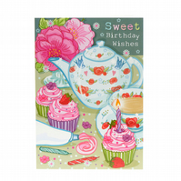 Sweet Birthday Wishes - Card