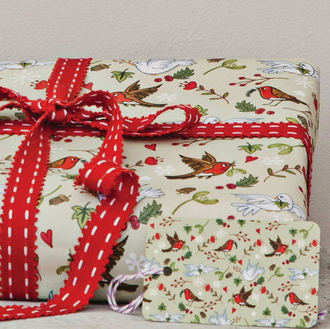 Gift Wrap 2 pack  - Deck The Halls