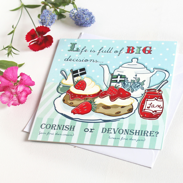 Greeting Card - Life is full of big decisions
