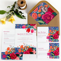 DIY Printable Wedding Stationery Set - Little Sparrow