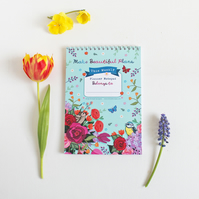 Weekly Planner Notepad - Make Beautiful Plans