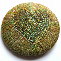 Stitched Silk Badge
