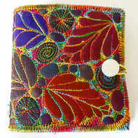 Stitched Silk Needle Case
