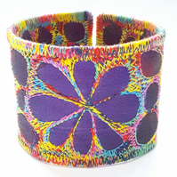 Textile Cuff or Fabric Wristband Cuff