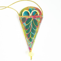 Embroidery Scissor Holder Necklace