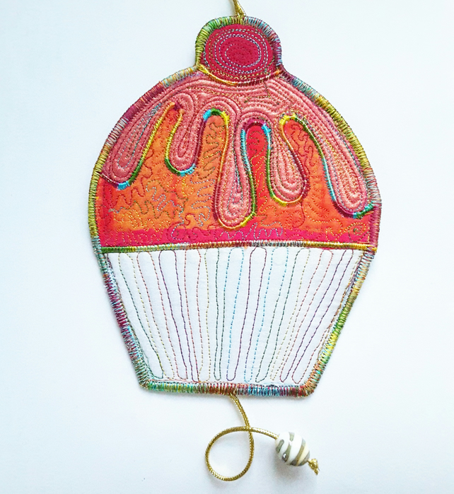 Cupcake Hanging Decoration