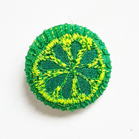 One Inch Fabric Badge