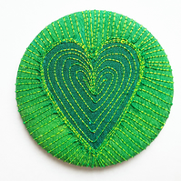 58mm Fabric Badge