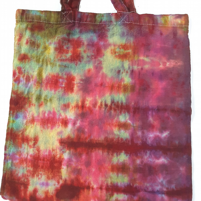 Hand Dyed Cotton Tote Bag